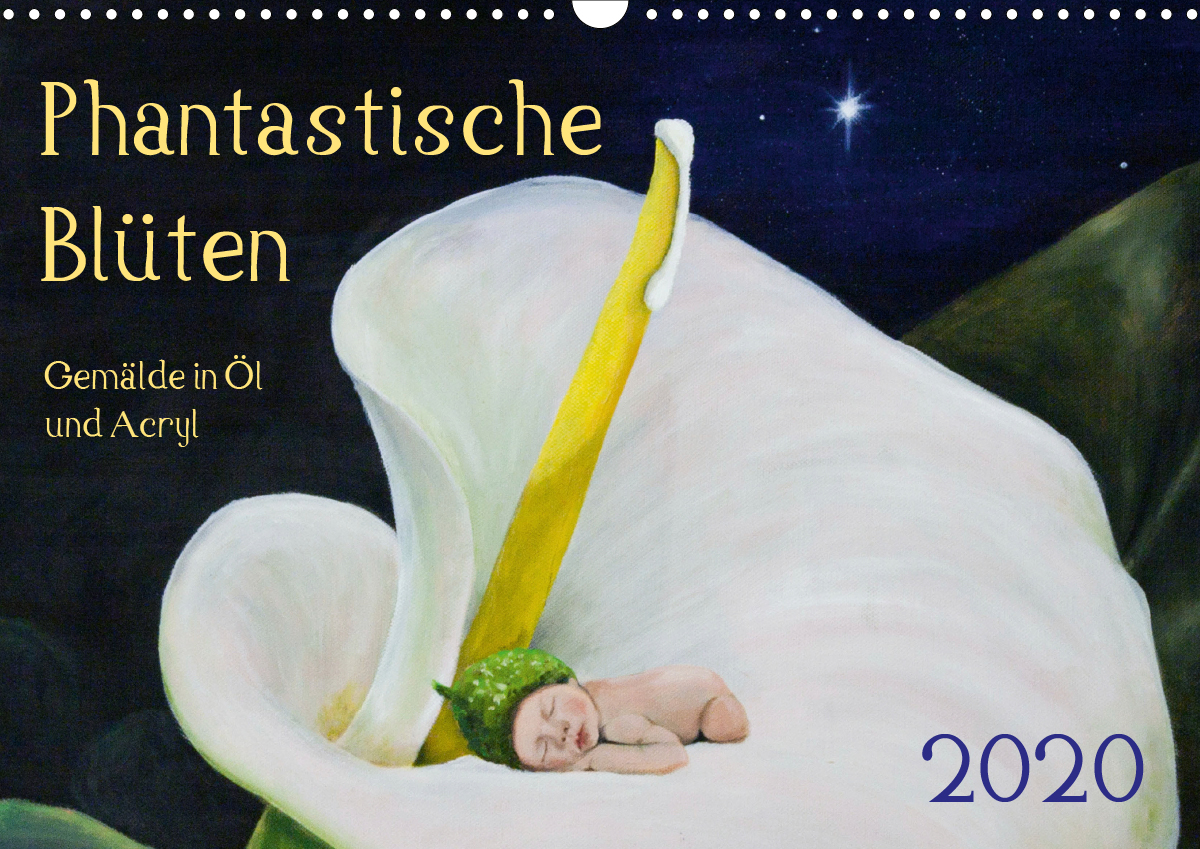 Kalender Phantastische Blüten 2020